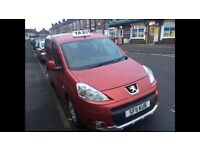 2011 Peugeot Partner Tepee 1.6 Diesel HDi Taxi M1 Spec Hackney Disabled Access - cab doblo scudo