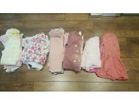 30 item Baby Girl Bundle Aged 6-9 months