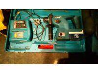 Makita 24v cordless sds hammer drill