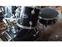 7 piece Drum kit & silent Mute Pads
