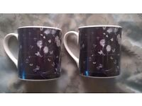 Damien Hirst - Fine Bone China set of two mugs - From The Wallace Collection