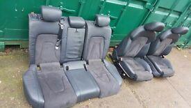 Audi S4 interior, seats 2011