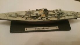 Collectable naval ships x 4