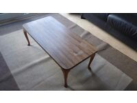 Coffee table - stylish and compact table - solid wood - free delivery