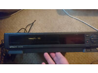 Vintage Hitachi VHS player