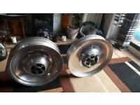 Harley Davidson v rod wheels