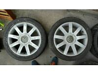 Vw audi alloy wheels multi