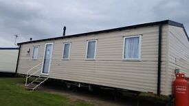 3 bed 2016 Willerby Mistral. Used only for 2 months. No site fee till 2018.