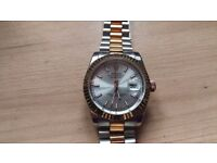Rolex Datejust two-tone automatic watch