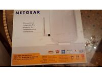 Netgear 54Mbps Wireless ADSL2+ Modem Router Boxed in very good condition