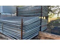 3.45 x 2m Heras Fencing Panels - Temporary Site Security