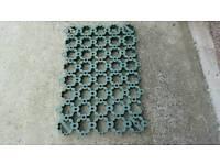 Ground guard tiles