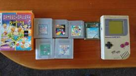 Original game boy and games