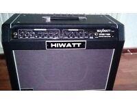 Hiwatt 100w guitar amplifier