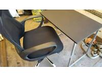 Top quality office chair and desk