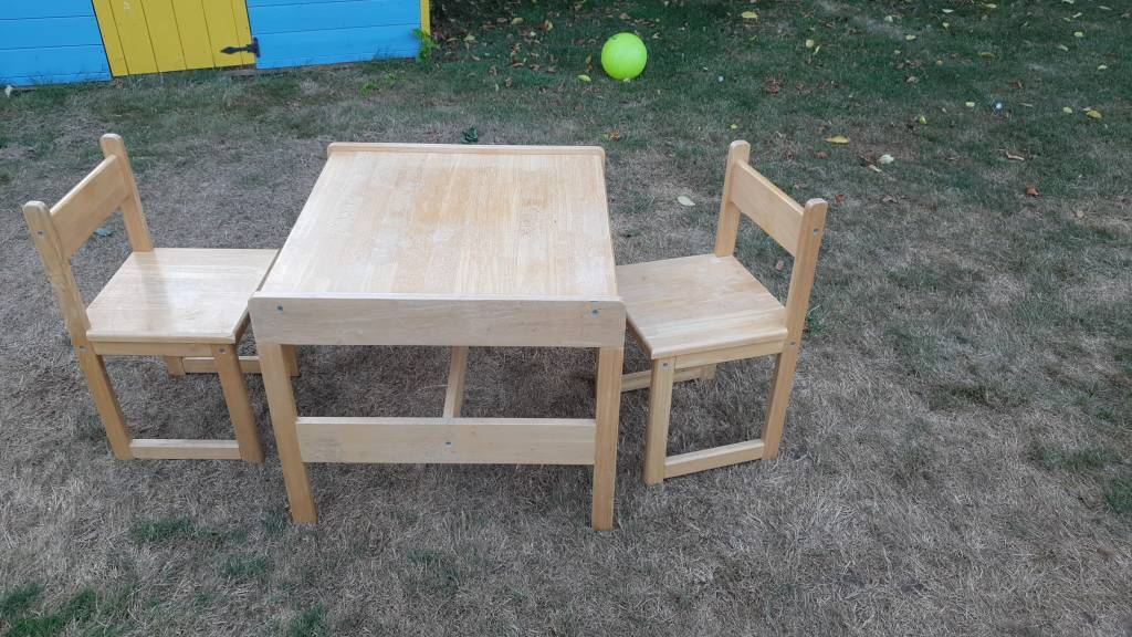 Picture of: Kids Table And Chairs Ikea In Southampton Hampshire Gumtree