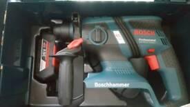 Bosch 36v sds drill new