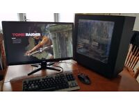 Desktop Gaming PC i5 16GB GTX 670 (3 SSDs + 1 HDD) (TOWER ONLY)