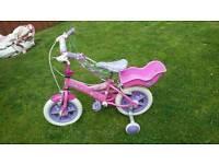 Girls first bike 12 inch