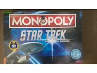 STAR TREK MONOPOLY CONTINUUM EDITION NEW AND SEALED EXCLUSIVE LIMITED EDITION