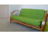 Double Futon sofa bed - like new - collection only