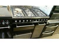 Smeg 90cm dual fuel range cooker hardly used !!!