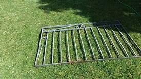 Galvanized steel gate
