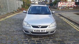 2006 Vauxhall Corsa 1.2 Silver 5dr hatchback Manual Petrol MOT Dec2018 full service history 2keys