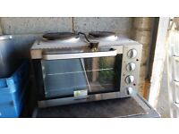 Electric oven with hob for sale