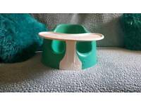 Bumbo baby play seat eating seat with tray