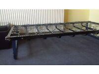 Vintage Metal Spring Single Bed Base