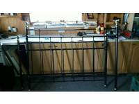 King size metal bed stead frame