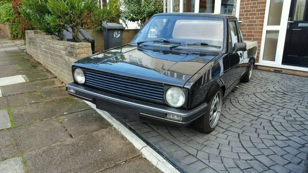 1988 Vw Caddy Mk1 1 6d Golf Pick Up Truck
