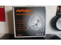 """Challenge free-standing 9"""" electric fan"""