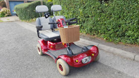Two Seater Shoprider Gemini Mobility Scooter NEW BATTERIES
