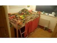 Child's cabin bed frame