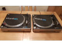 Twin Stanton T62 Record Decks