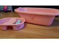 Toys r us baby bath with top and tail bowl