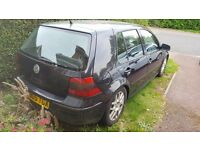 Vw golf v5 spares or repairs