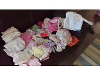 0-6months baby girl clothes bundle