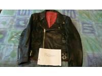 Genuine vintage leather jacket ( SOLD)