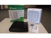 Xpelair GX9 wall fan unused in box with instructons