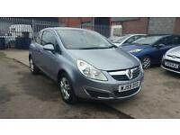 2009 Vauxhall corsa 1.3 diesel 3 door hatchback 12 months mot genuine low mileage