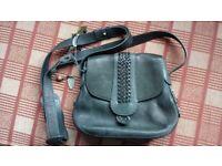 Radley dark green shoulder bag and dust bag