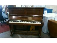 Wooden upright piano