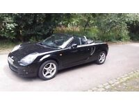 TOYOTA MR2 COVERTIBLE LONG MOT WITH HISTORY DRIVES PERFECT