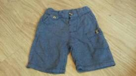 Mini club 9-12m boys shorts