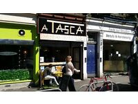 "EDINBURGH CAFE/DELI ""A TASCA"" TO LET IN PRIME LOCATION SHOP ST (EASTER RD) £750/MTH"