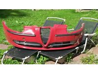 Alfa Romeo 147 Front and Rear Bumpers