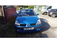 Renault Clio Dynamique 1.4 Petrol 2002